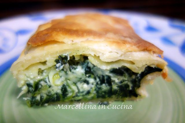 Marcellina in Cucina: Spinach and Cheese Katmer Pie