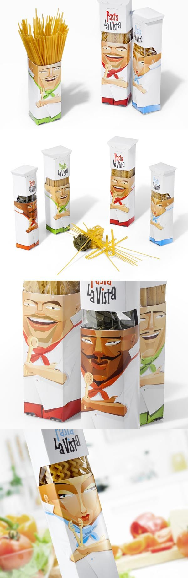 Pasta La Vista Concept. I would soooo buy these.