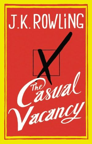 add it to my reading list...The Casual Vacancy by J.K. Rowling