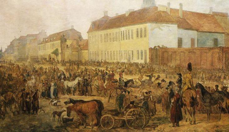 Targ na Pradze, Norblin, 2 poł XVIII