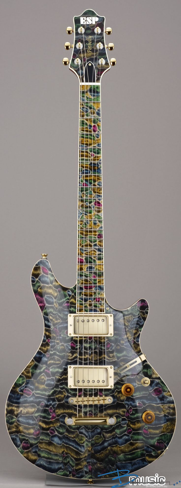 ESP Potbelly-QM Mosaic #Guitar #Instrument #Music