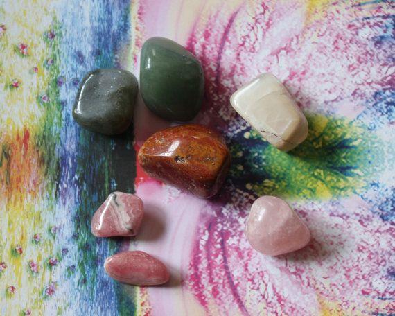 HEAL EMOTIONAL WOUNDS / Healing Crystal Set /  Release by zaraluna, $18.95