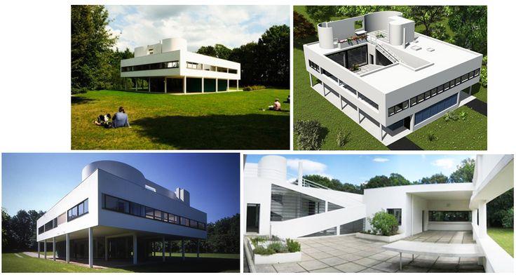 Las obras arquitectónicas más relevantes de Le Corbusier - Diseño Interior Revista