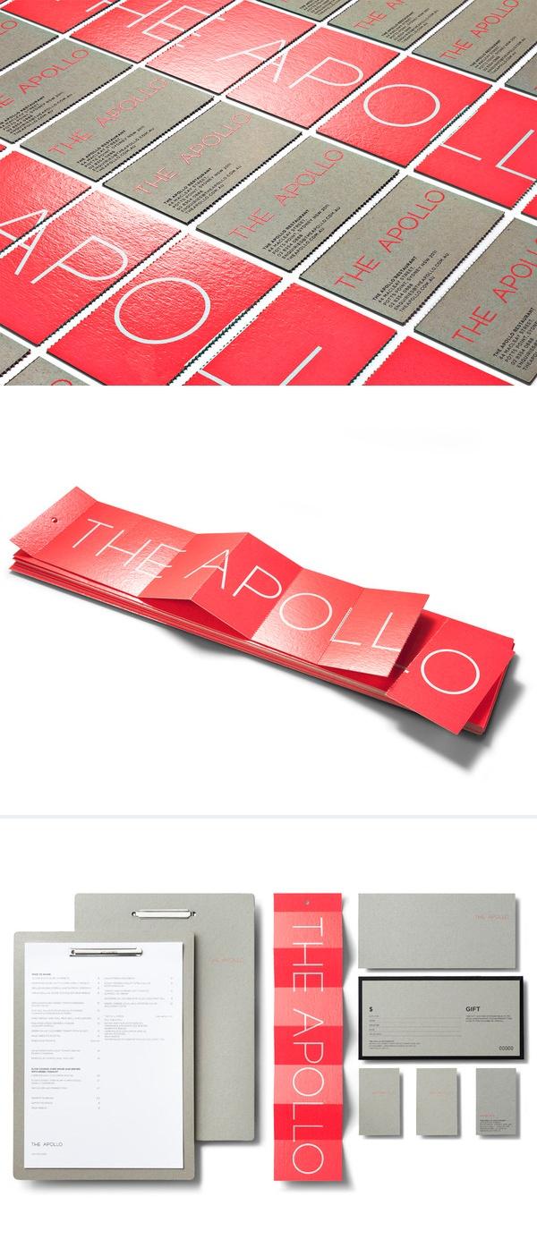 visual identity / the apollo restaurant