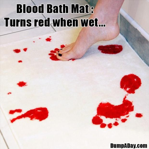 Cool-Unusual-Products-Blood-Bath-Mat-.jpg (620×620)