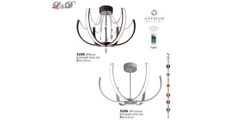 LARGO mennyezeti lámpa 5206 alumínium - Design Led Lámpák - Lámpa & Design - Lámpák - Világítás - Design