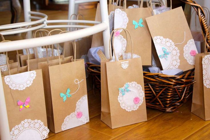 Vintage Shabby Chic Birthday Party Ideas | Photo 11 of 38 | Catch My Party