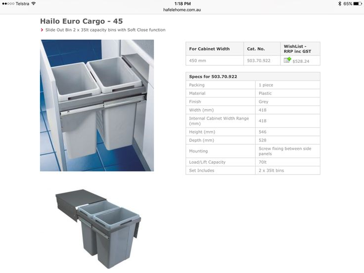 Hafele Euro Cargo 45