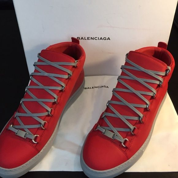 Balenciaga Arena Sneaker New Balenciaga Men Sneakers size 43. Cone with box and dust bag.  trade. Balenciaga Shoes Athletic Shoes
