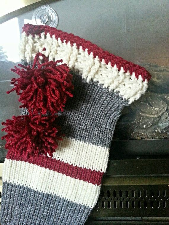 Check out this item in my Etsy shop https://www.etsy.com/listing/257987101/sock-monkey-inspired-christmas-stocking