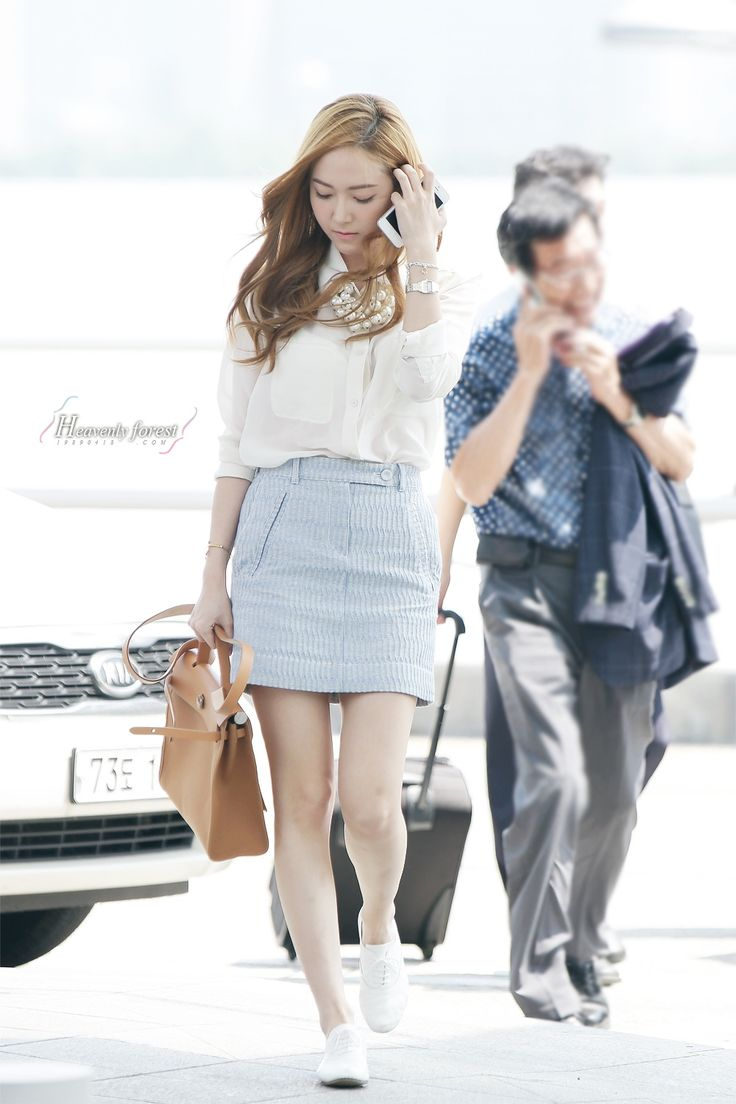 OMONA THEY DIDN'T! Endless charms, endless possibilities ♥ - SNSD AIRPORT POST ✈ 130620/130621  White shirt, oxfords