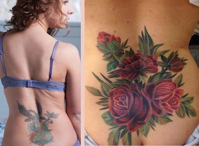 С Дашей у нас было тяжёлое перекрытие,к сожалению на первой фото не видно всей темноты её татуировки,но она была очень тёмной )))и вот мы закончили )и да,я совсем не мастер фото поэтому цветы чуть бликуют((( тачки @skinductor  и @leosmagin #luckybutter #птицатату #birdtattoo #bangbangfamily  #minitattoo #poppy  #flower #myday #tattooart #tattooartist  #tattoo #ink #inked #tattooist #tattoogirl  #flower #myday #tattooart #tattooartist  #tattoo #ink #inked #tattooist #tattoogirl #inked #day…