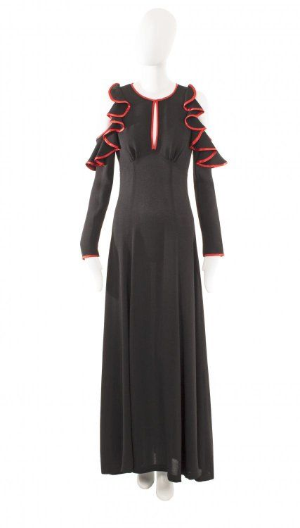 An Ossie Clark dress, circa 1970