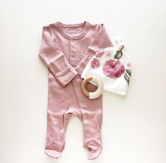 PRE-ORDER organische Baby Swaddle deken aquarel door finnandolive
