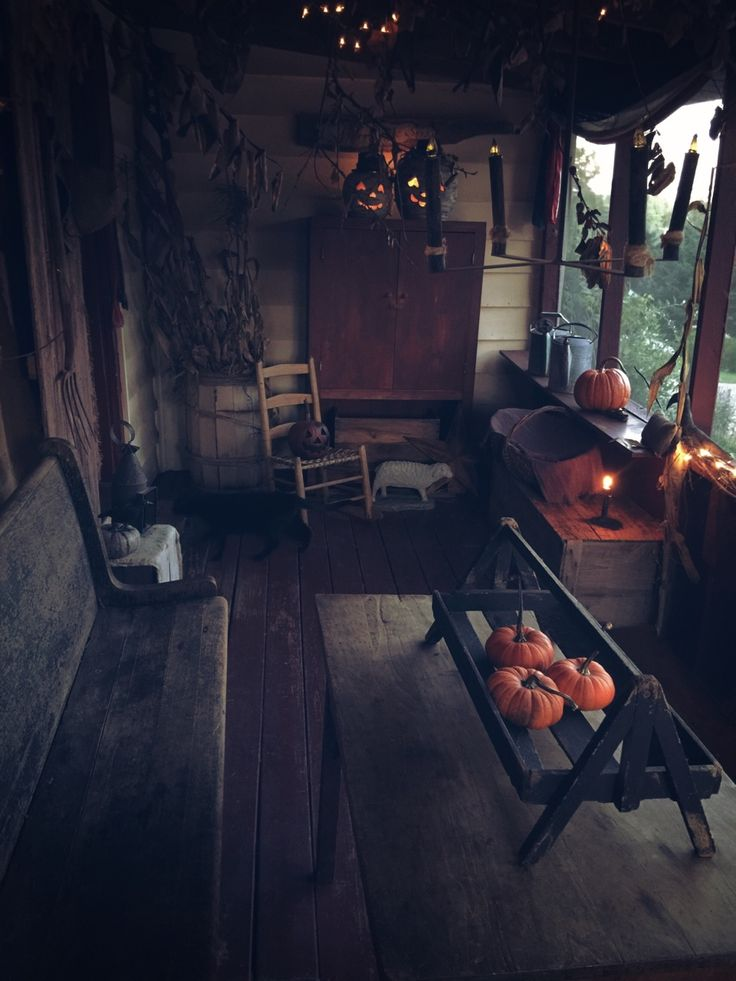 """primwitch69: """" Halloween at our house 2016 Source: primwitch69 """""""