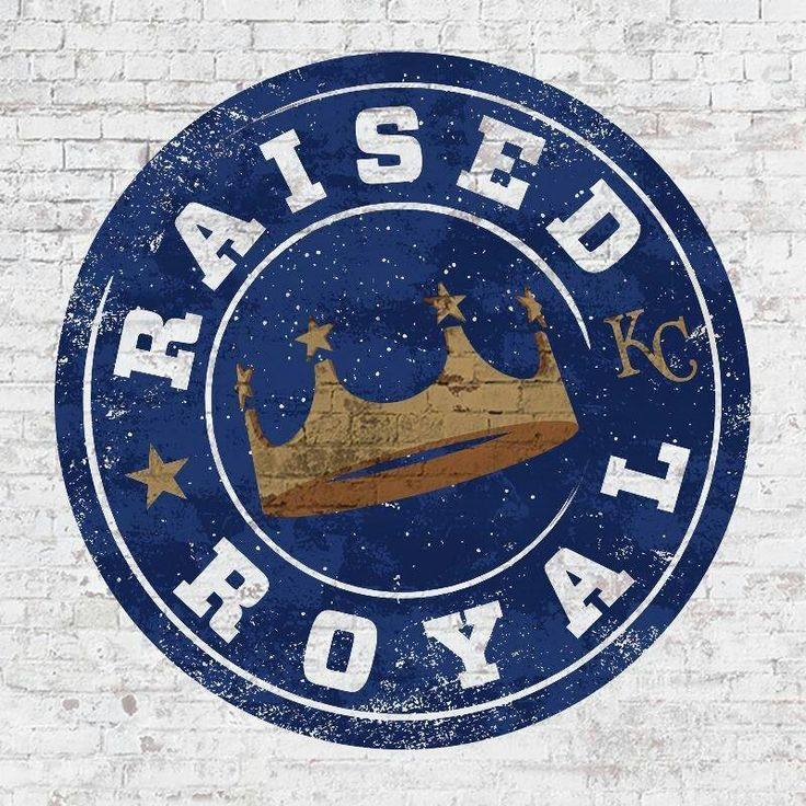 """Raised Royal"" - 2017 Theme for Kansas City Royals baseball team"