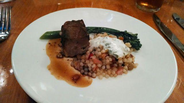 Chez Piggy Restaurant   Taste of Kingston   Summer Menu  Mint & Garlic Crusted Lamb Confit