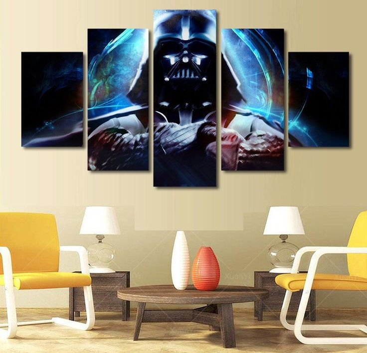 Limited Edition Star Wars Darth Vader Canvas Print – TC Discount Store