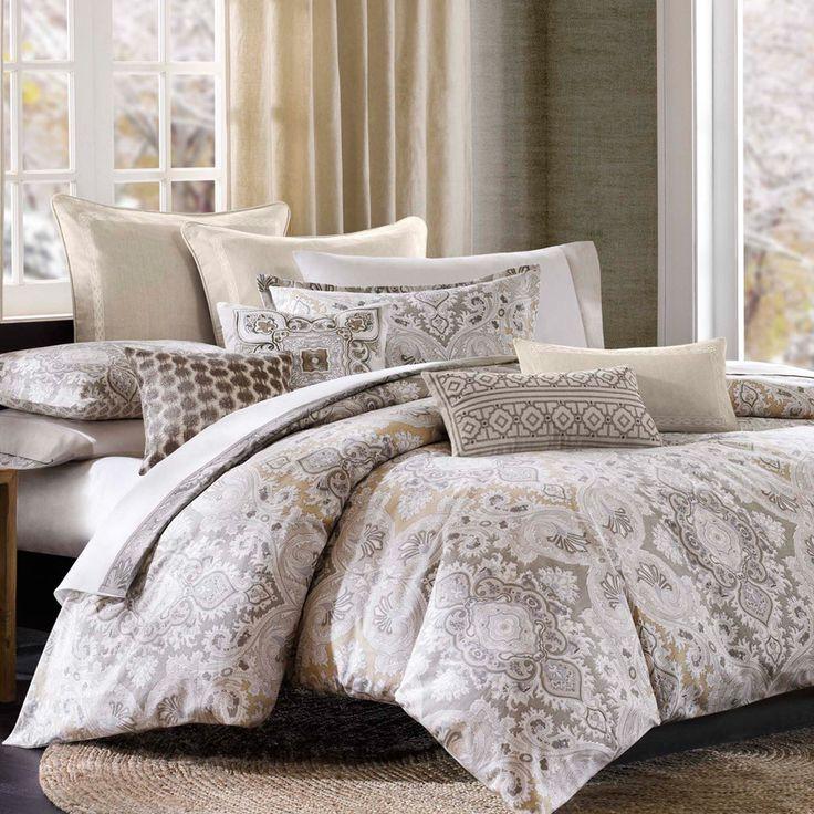 Features:  -Color: Multi.  -Comforter & Sham Face: 100% Cotton textured…