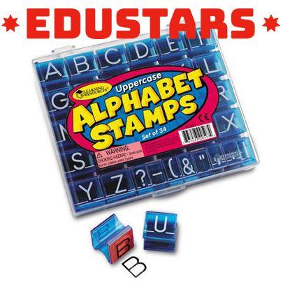 Alfabet stempels hoofdletters - https://edustars.nl/product/alfabet-stempels-hoofdletters/