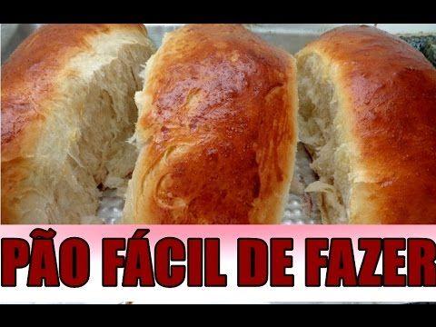 PÃO CASEIRO SIMPLES  FÁCIL PARA OS INICIANTES,FOFINHO MACIO FAÇA VOCE ME...