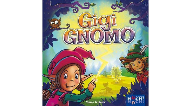 Gigi Gnomo - 2016-ban az egyik legjobb családi társasjáték. 5 éves kortól ajánlott!