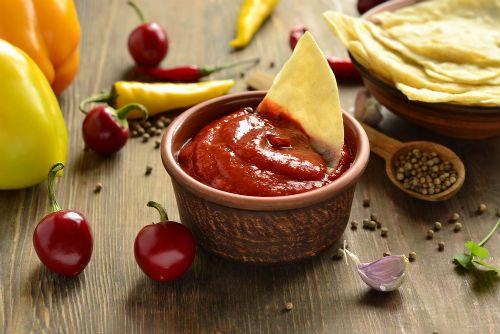 Άιβαρ (αλοιφή με πιπεριές Φλωρίνης και μελιτζάνα)