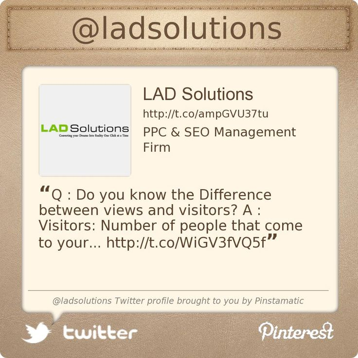 @ladsolutions's Twitter profile courtesy of @Pinstamatic (http://pinstamatic.com)
