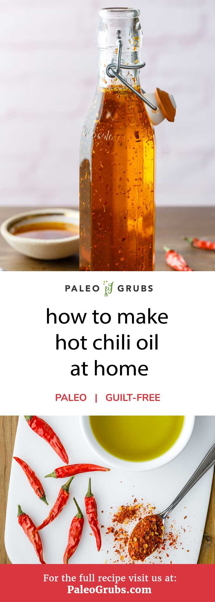 Looking for something that is quick and easy to whip up but will still add quite a bit of heat to your favorite foods? If so, you're in luck as this recipe for chili oil is incredibly simple to prepare. It only requires two simple ingredients and 10 minutes of your time to make a delicious chili oil that can be used as a dipping sauce or added in as an ingredient when making your favorite spicy dish.