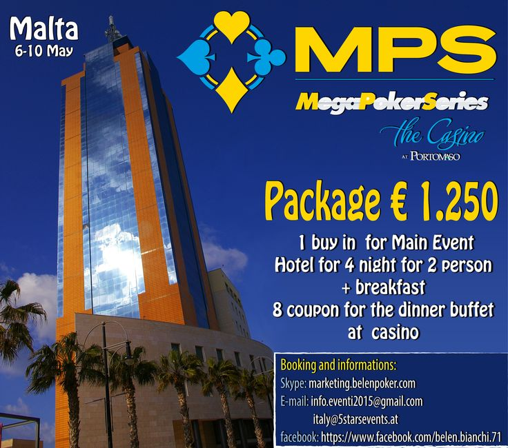 Best MegaPokerSeriesMaltaThe Casino Portomaso May - 10 coolest casinos world 2