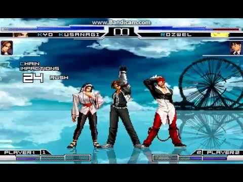 KOF WOJ ~ Legend Kyo Kusanagi Vs Original Rozwel G.