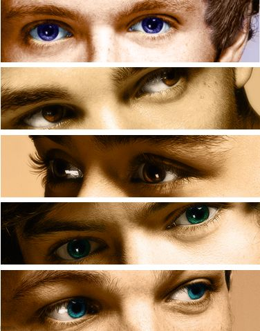 One Direction Eyes. I'm in love <3