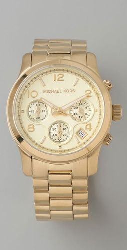 Michael Kors watches. my new obsession. This one would be perfect. Versatile.