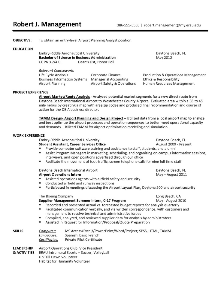 Resume/CV Tips And Samples   Career Services