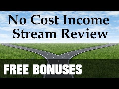 No Cost Income Stream Review - FULL Details
