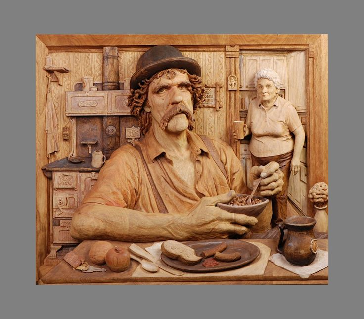 Best images about fred cogelow woodcarver on