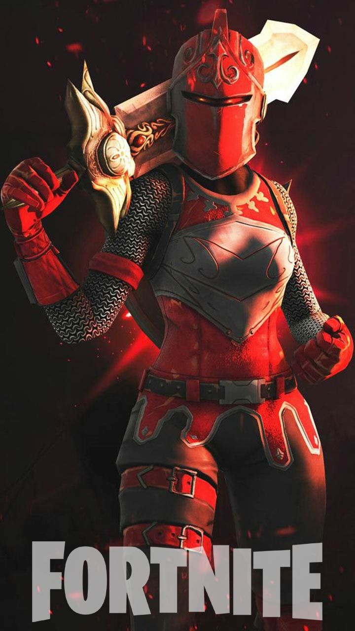 30 Fortnite Wallpaper Hd Phone Backgrounds For Iphone Android Lock Screen Characters Skins Art Red Knight Gaming Wallpapers Red Knight Fortnite