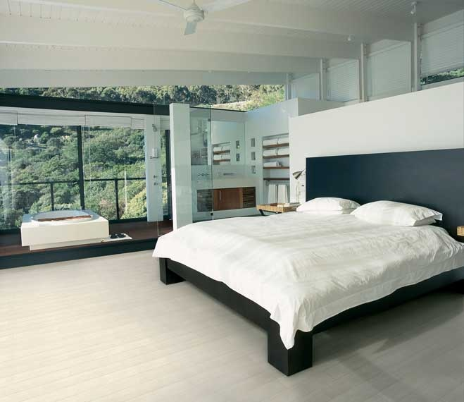 #Wood imitation #porcelain tiles provide an ultra sophisticated look. #UnionTiles