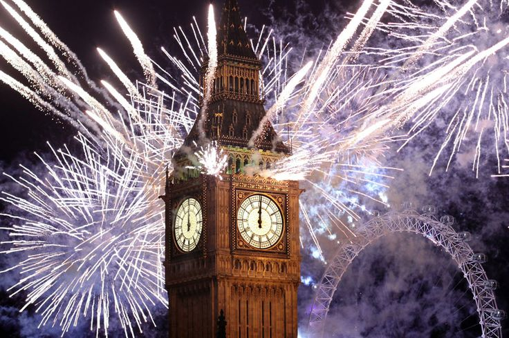 London--Watch the fireworks at Big Ben!