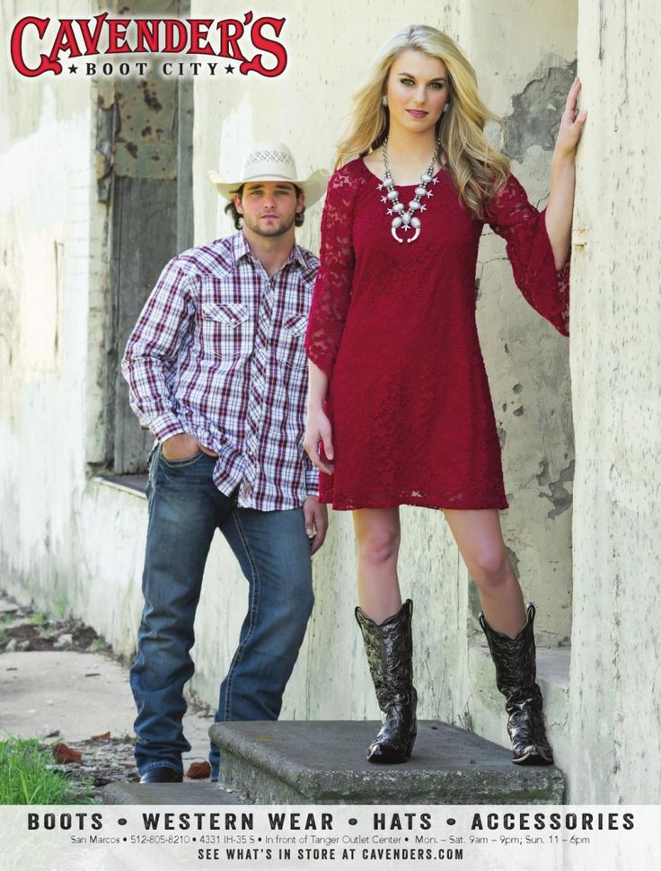 BOOTS • WESTERN WEAR • HATS • ACCESSORIES    In front of Tanger Outlet Center • Mon. – Sat... Cavender's - San Marcos, TX #texas #SanMarcosTX #shoplocal #localTX