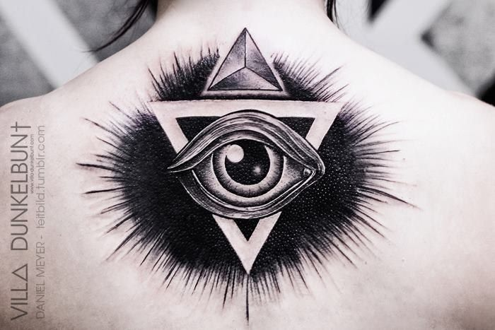 Illuminati Triangle Tattoo triangle illumi...