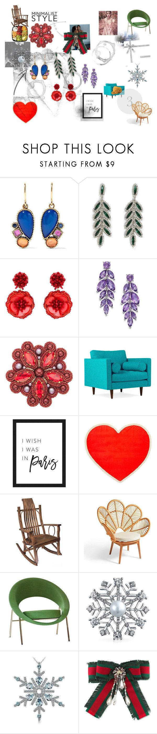 """1"" by specvozmoznosti on Polyvore featuring Larkspur & Hawk, Forever 21, Mignonne Gavigan, Whiteley, Joybird, Polaroid, ban.do, Grandin Road, Bling Jewelry и Gucci"