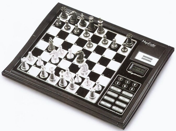 $50 Saitek Mephisto Talking Chess Trainer Chess Computer - Learn to Play Chess