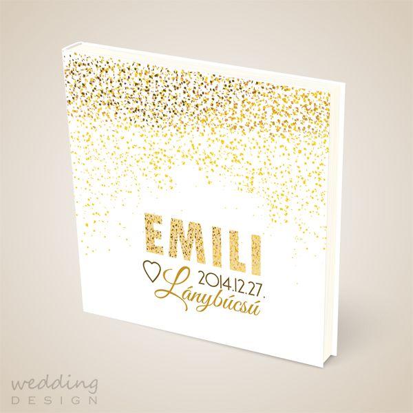 Guest book for present - Emlékkönyv ajándékba Graphic/Grafika: Wedding Design