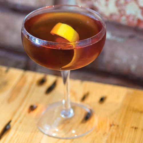 You can upgrade this old standby with small-batch Irish whiskey and spicy Bénédictine liqueur.