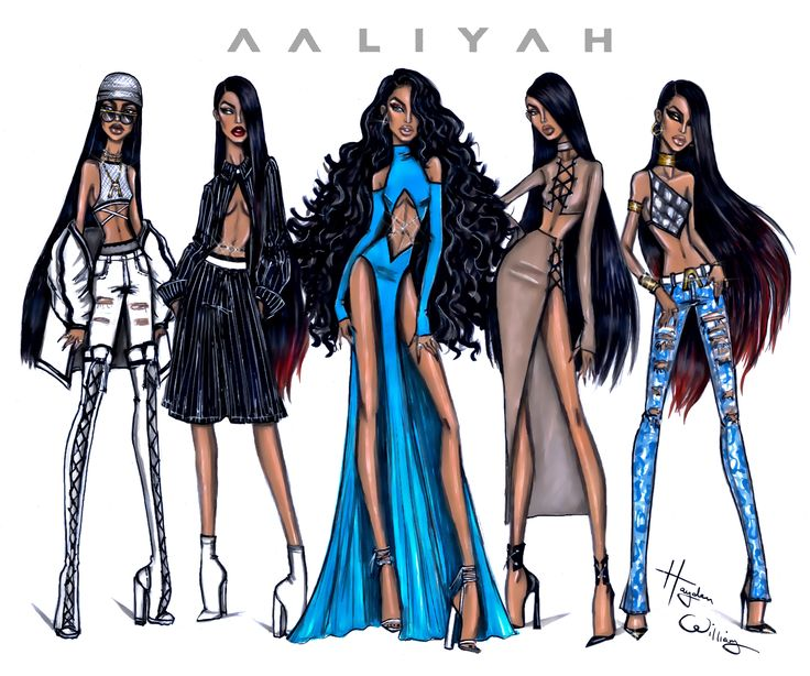 #Aaliyah 15th Anniversary collection by Hayden Williams