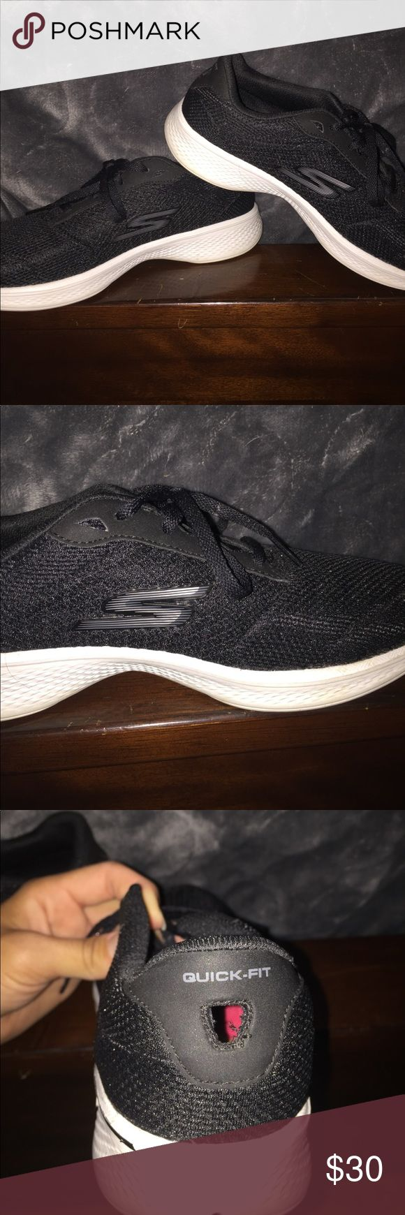 Sketchers go walk shoes Size 7.5 only worn once sketchers Shoes Sneakers