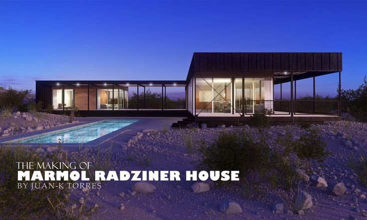 Making of Marmol Radziner house | CG Tutorials library