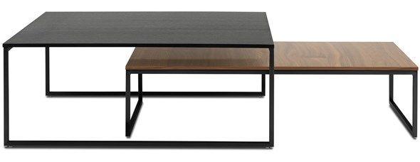 BoConcept | Tables basses personnalisable , plateau chene  299 euros Lugo 26*102*60