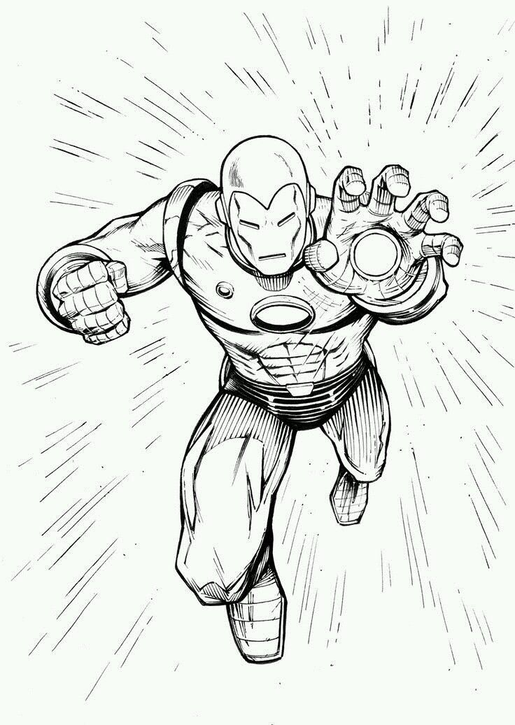 free printable iron man coloring pages for kids best coloring pages for kids - Coloring Pages Superheroes Ironman